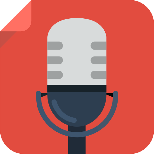 Recording micro Icon | Square Iconset | Flat-Icons.com