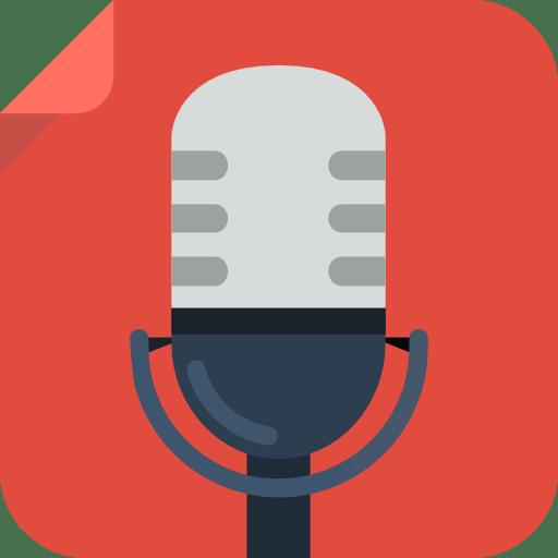 Recording micro Icon | Square Iconset | Flat-Icons.com