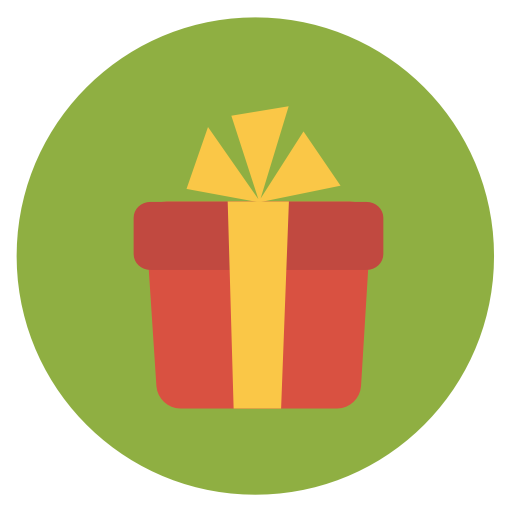 The Best Christmas Gift Icon Png