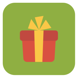 Gift Icon | Flat Christmas Iconset | fps