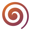Actions draw spiral icon