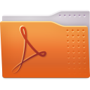 Places folder pdf icon