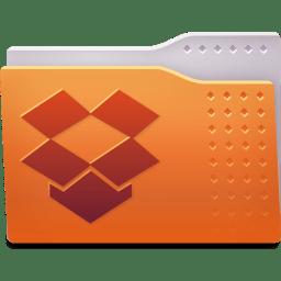 Places folder dropbox icon