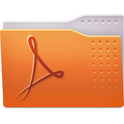 Places folder pdf icon