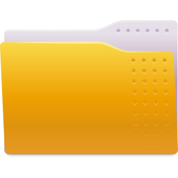 Places folder yellow icon