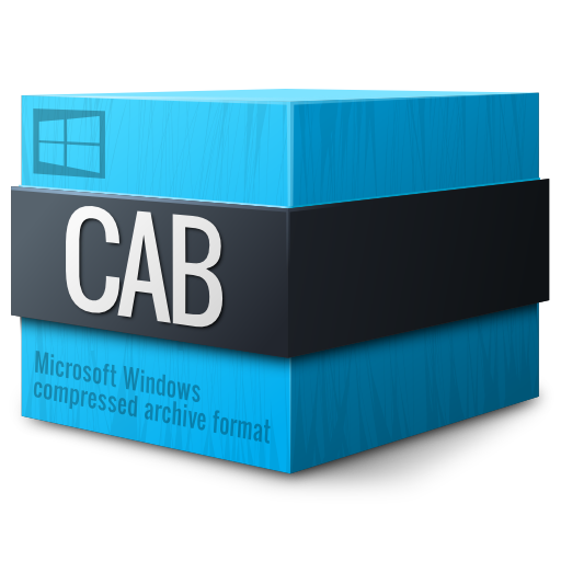 Mimetypes-application-vnd.ms-cab-compressed icon