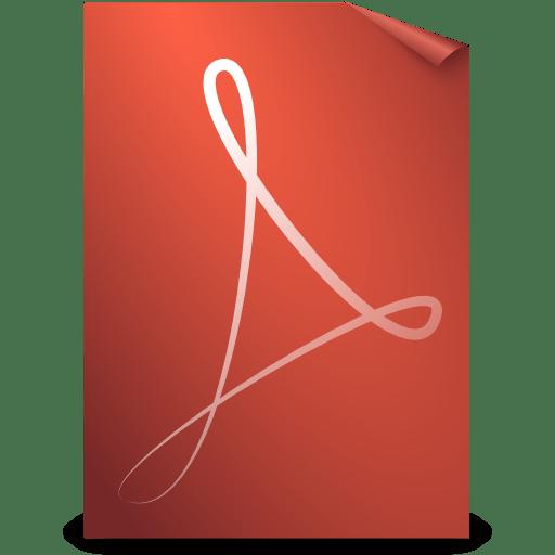 Mimetypes pdf icon