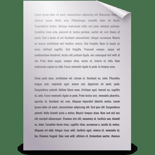 Mimetypes-text-plain icon