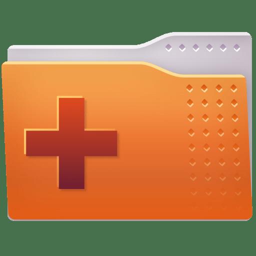 Places-folder-add icon