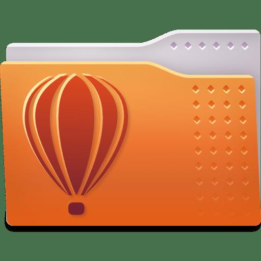 Places folder coreldraw icon