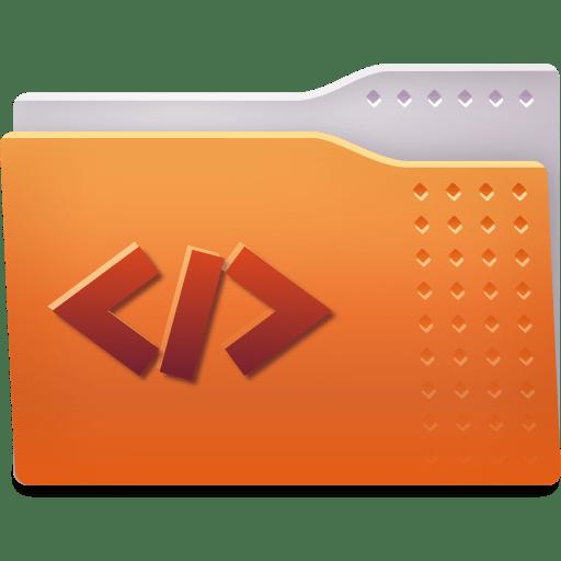 Places folder html icon
