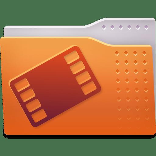 Places folder video icon