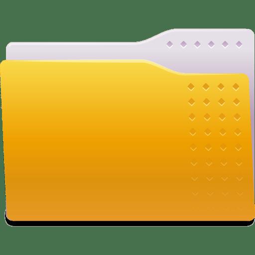 Places-folder-yellow icon