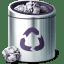 Places-trash-full icon