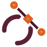Actions-draw-path icon