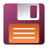Actions-stock-save-as icon