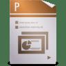 Mimetypes-kpresenter-kpr icon