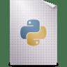 Mimetypes-text-x-python icon