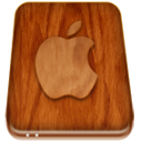 Apple hard drive icon