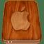 Apple-hard-drive icon
