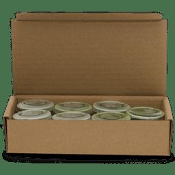 Boxed frozen wheatgrass juice icon