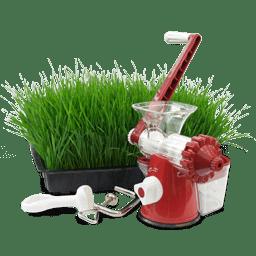 Hand wheatgrass juicer icon
