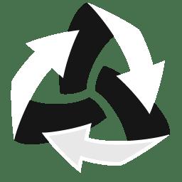 Trash Arrows Empty icon