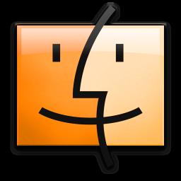 Orange Finder icon