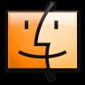 15-Orange-Finder icon