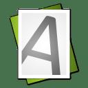 Font File Alt icon