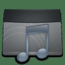 Black Folder Music icon