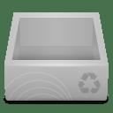 White-Recycle-Bin icon