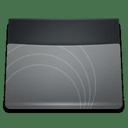 Black Folder icon