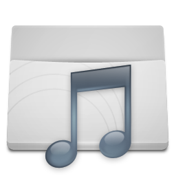 White Folder Music icon