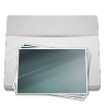 White-Folder-Pictures icon