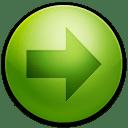Alarm-Arrow-Right icon