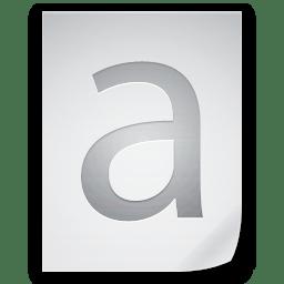 Files Font icon