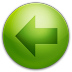 Alarm-Arrow-Left icon