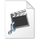 Movie and music file icon
