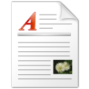 Wordpad file icon