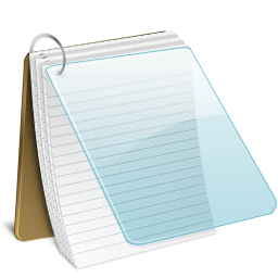 Notepad Icon Radium Iconset Sean Poon