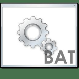Bat file Icon | Radium Iconset | Sean Poon