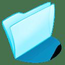 Folder blue normal icon