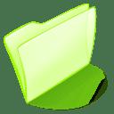 Folder green normal icon