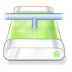 Drive-green-network icon