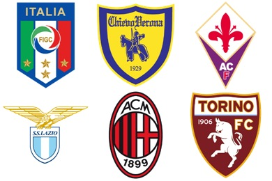 Italian Football Club Icons
