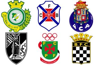 Portugese Football Club Icons