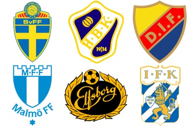 Swedish Football Club Icons