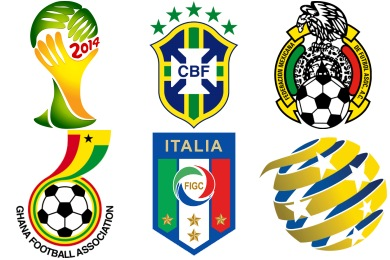 World Cup 2014 Icons
