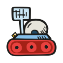 Space rover 1 icon